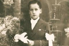 Primeira Comunhão, em Freamunde [início da década de 40].