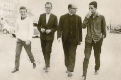 No Padrão da Légua, na década de 60.